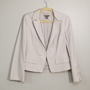 Ann Taylor Clasp Front Traditional Blazer